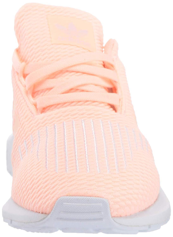 Details about Kids Adidas Boys swift run Low Top, Clear OrangeWeiss schwarzWhite, Size 12.0