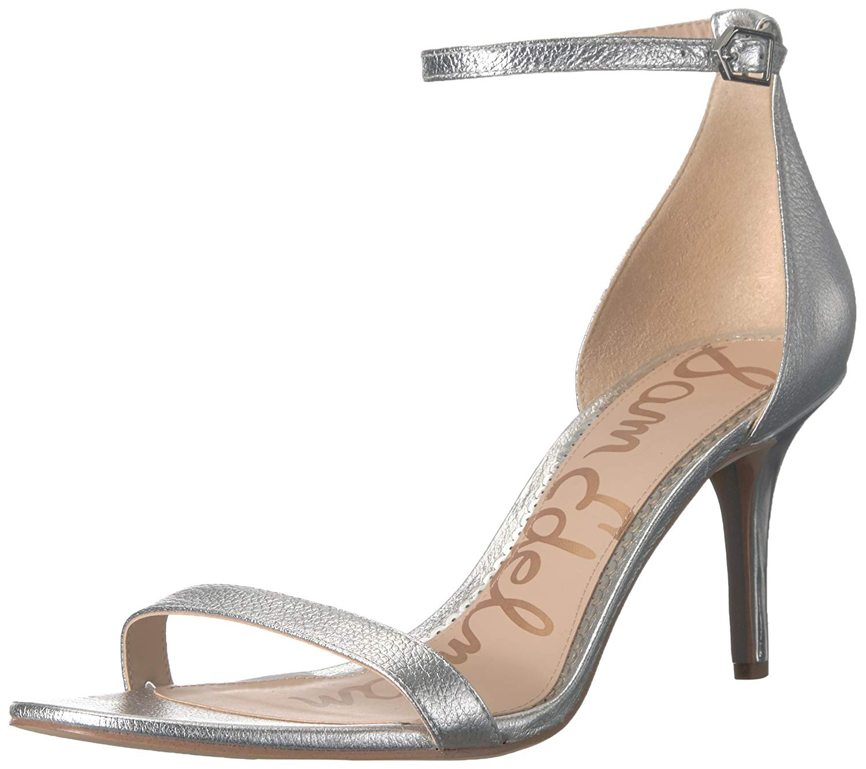 72627b6dbdf Sam Edelman Womens Patti Leather Open Toe Casual Ankle Strap Sandals