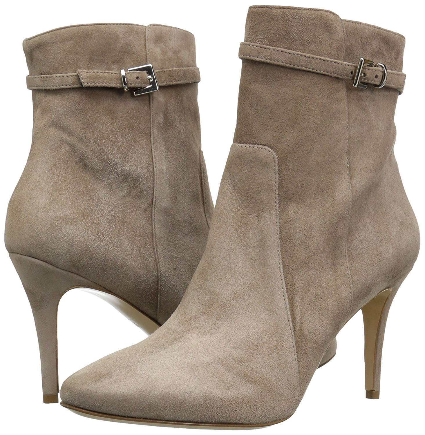 Prism Toe Ankle Fashion Womens Almond Boots Charles Suede David qEn5XR