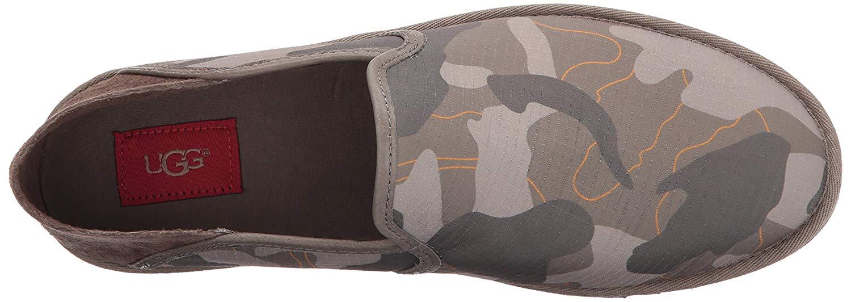 61869e51a39ab Ugg Australia Mens Cooke Canvas Leather Round Toe Penny, Brindle ...