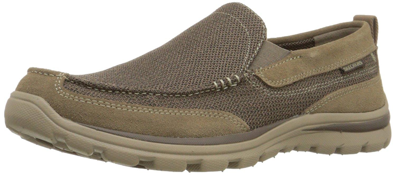 skechers slip on shoes for men