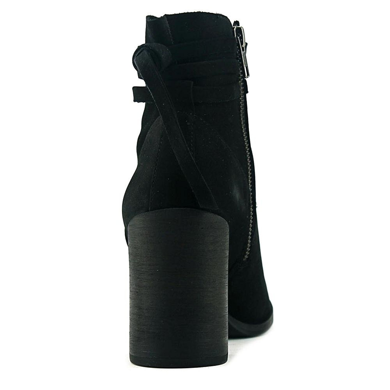 Steve Madden Damenschuhe Percy Leder Leder Leder Almond Toe Ankle Fashion Stiefel 421eb9
