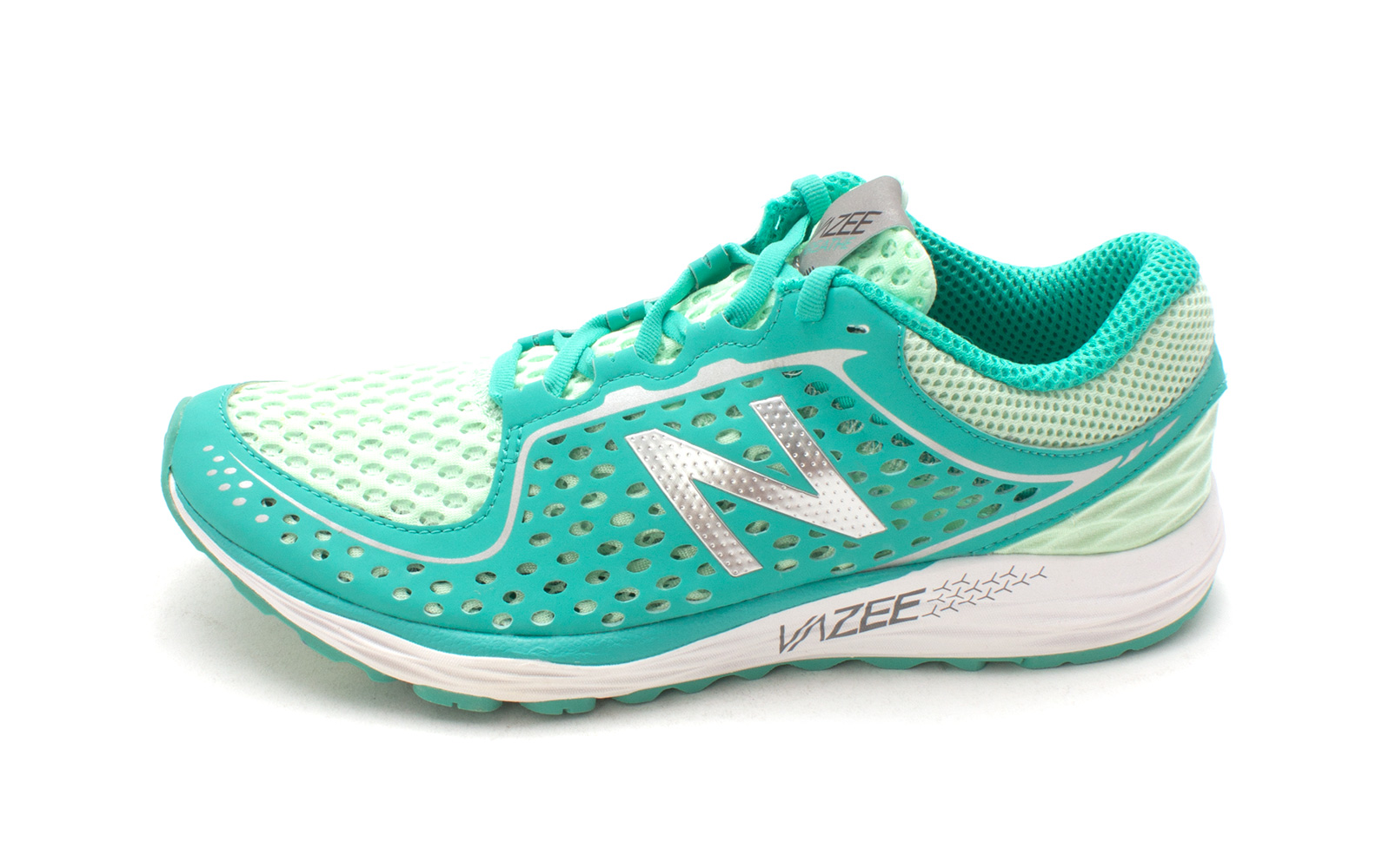 New Balance Womens wbreahs Low Top Lace Up Running Sneaker Green Size 10.0
