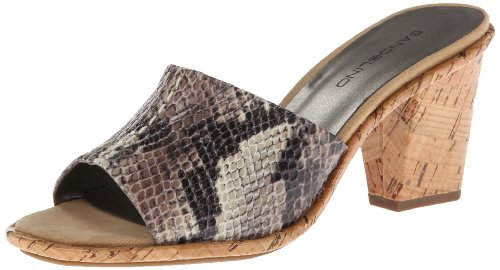 Bandolino Womens Jeyma Open Toe Casual Slide Sandals Natural Size 70