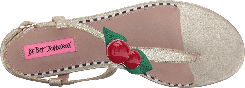 Betsey Johnson Damenschuhe Cherry Split Sandales Toe Casual T Strap Sandales Split     774869