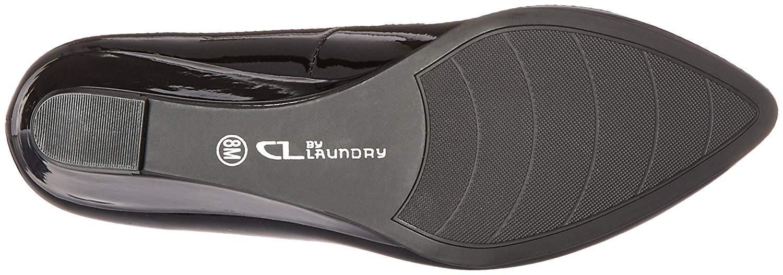 CL by Laundry Frauen Pumps Schwarz Groesse 7.5 US /38.5 EU