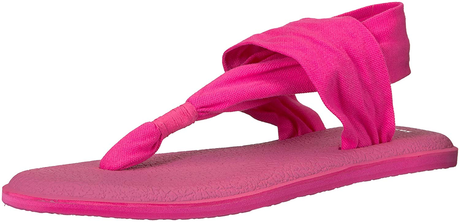 ee1a6b9bb453 Sanuk Womens yoga sling 2 Open Toe Casual Slingback Sandals