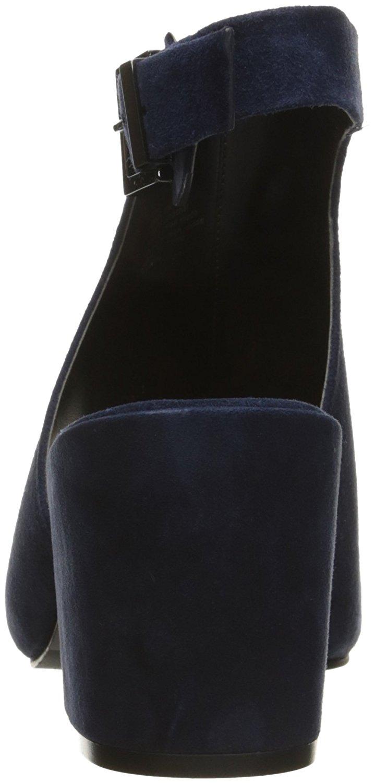Kenneth-Cole-New-York-Femme-Val-Daim-Bout-Ouvert-Bride-Arriere-Classique-Escarpins miniature 10