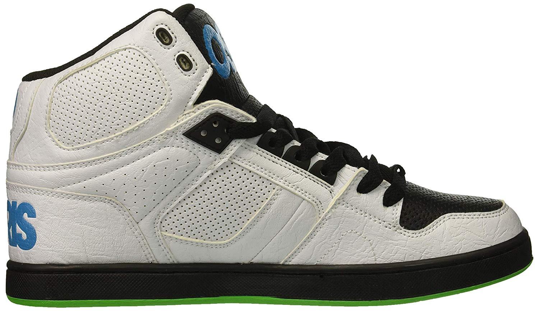 ShoeWhiteblackcyanSize Details 83 5 7 Clk Uk Men's Osiris Zu 7 Skate Nyc Us 76vyYgbfIm
