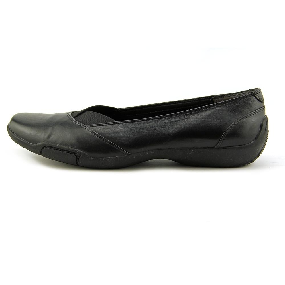 Ros Hommerson Femme Cady Cuir Bout Rond Mocassins, Noir, Taille 9.0 US 7 uk