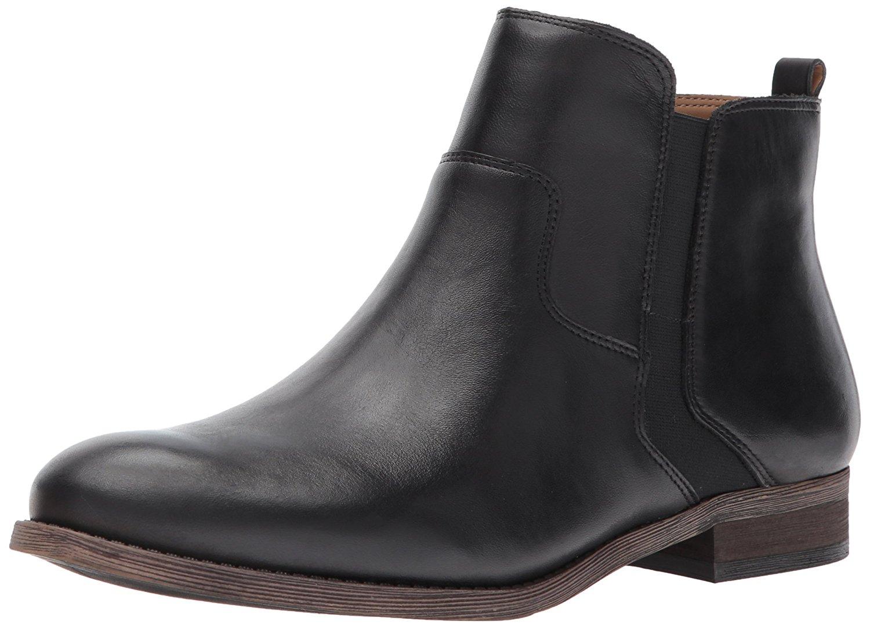 5b136f059dbd Franco Sarto Womens Hampton Leather Almond Toe Ankle Fashion Boots
