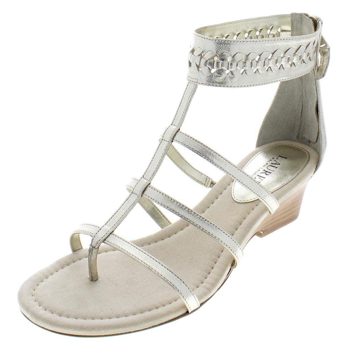 LAUREN by Ralph Lauren donna Meira Open Toe Casual Ankle Strap Sandals
