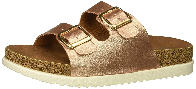 7a56f3bc082 Madden Girl Women s Goldiie Slide Sandal