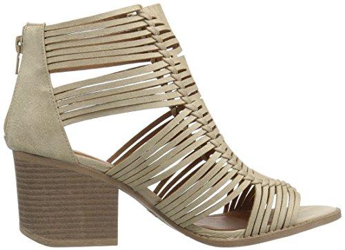 4d2ad25423e5 Qupid Women s Wood Heeled Sandal