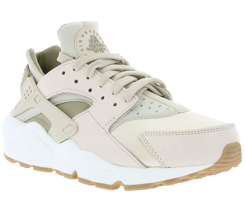 Nike Womens Air Huarache Run prm Low Top Lace Up Fashion Sneakers ba0fd7847
