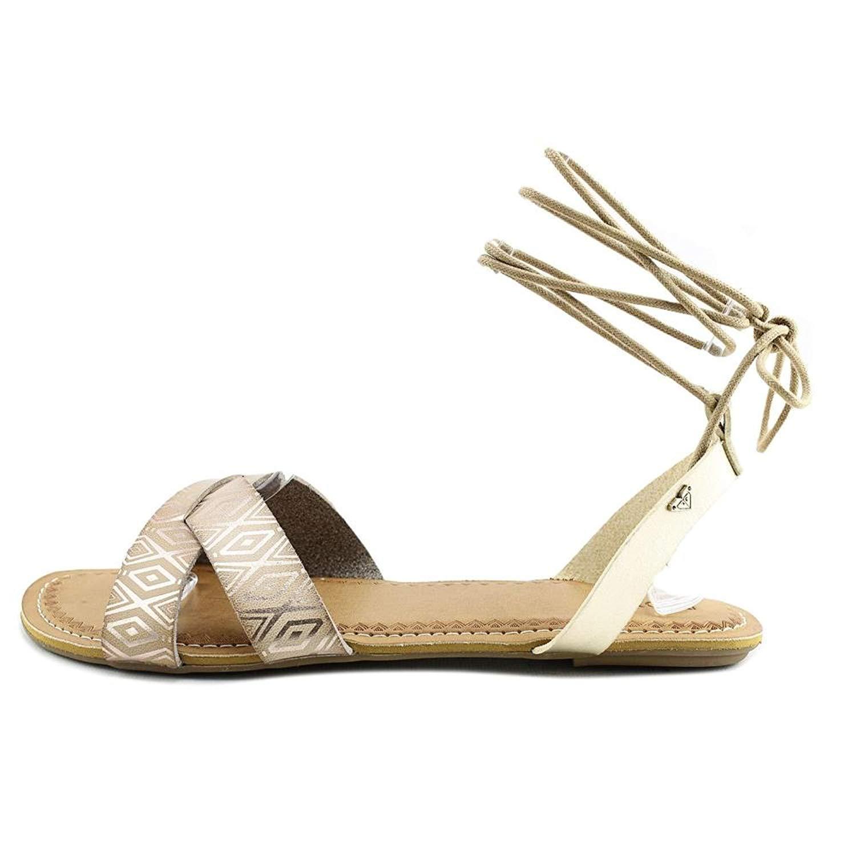 8b4ea3e89b2 Roxy Womens TEL AVIV Open Toe Casual Gladiator Sandals