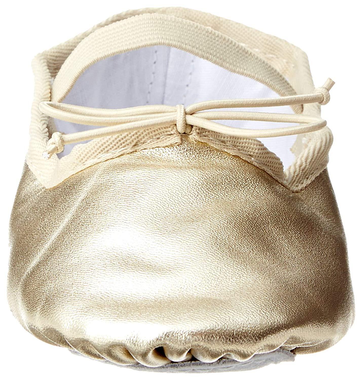 008631c5e495 Dance Class Gold Ballet Flat (Toddler Little Kid Big