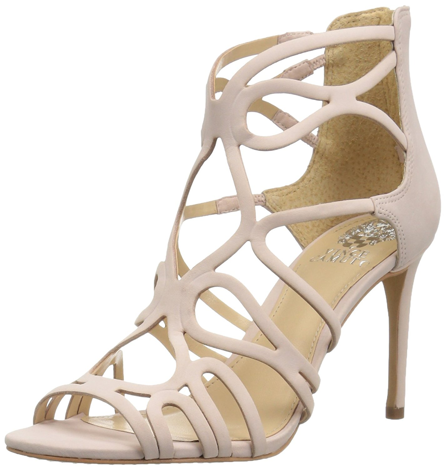 Vince Camuto Womens Lorrana Leather Open Toe Special