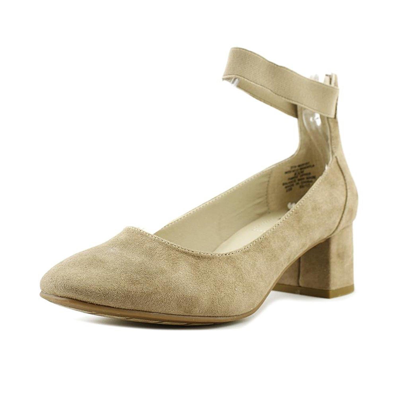 Weiß Mountain Damenschuhe Ankle Makayla Closed Toe Ankle Damenschuhe Strap, Desert Suede ... 0ecbef