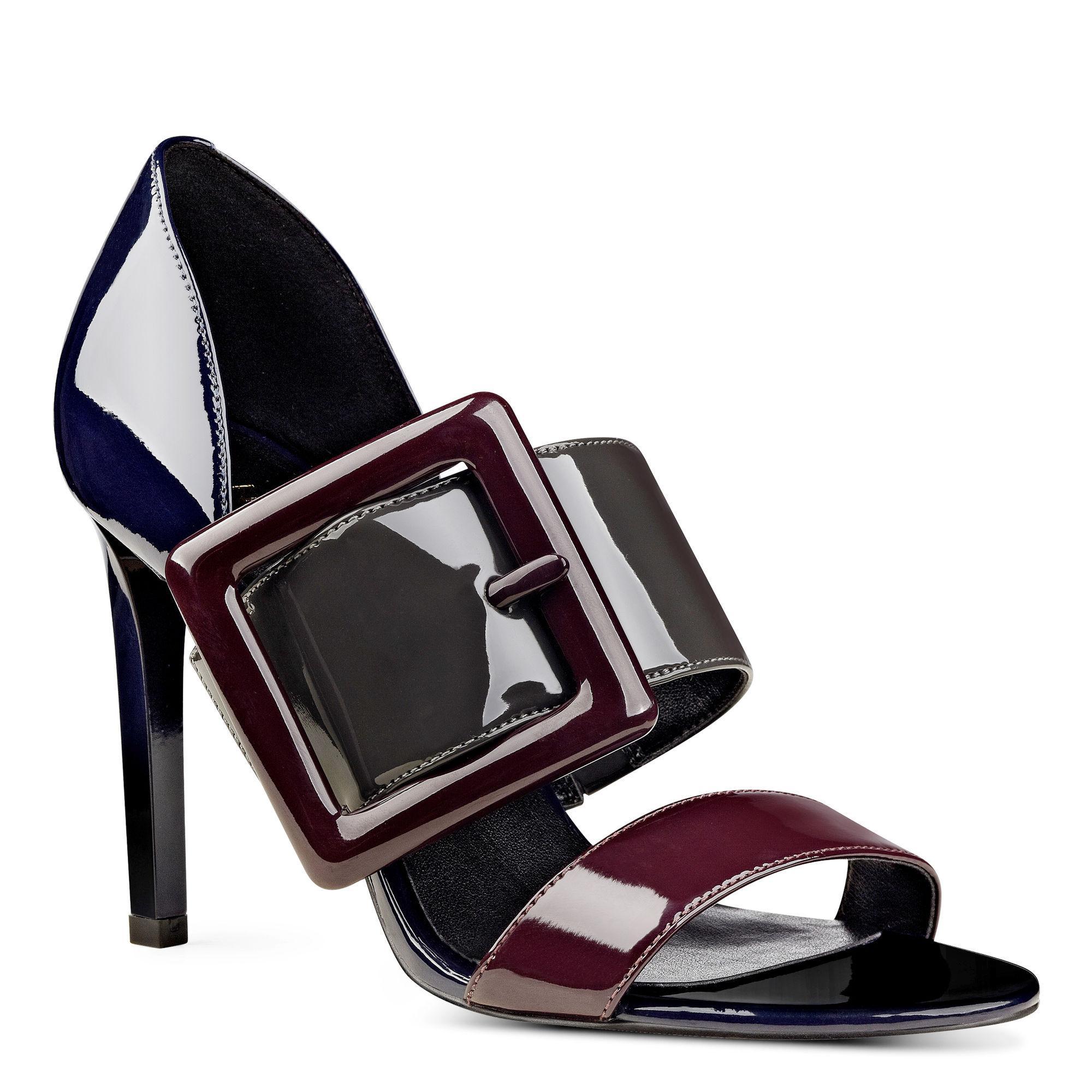 Nine West Womens Langley Open Toe Casual Slide Sandals MultiColor Size 65