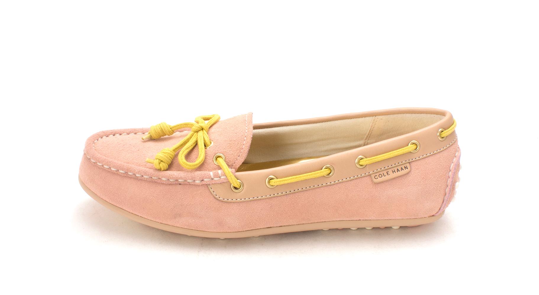 Cole Haan Donna Electasam Closed Toe Boat Scarpe, Rosa/Yellow, Taglia 6.0