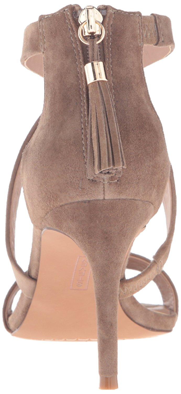 bfe7dde7a7f STEVEN by Steve Madden Womens nahlah Open Toe Ankle Strap Classic ...