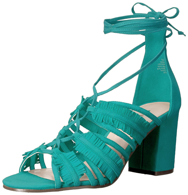 Nine West GENIE Femme à Talon Sandales Dark Turquoise 7 US 5 UK