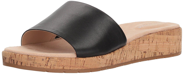 5b017422f590 Easy Spirit Womens Muscari Open Toe Casual Slide Sandals
