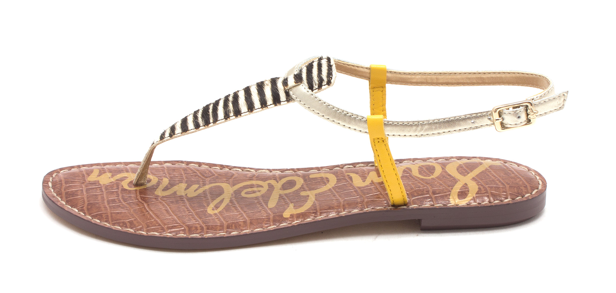 131897a6203dc8 Sam Edelman Womens Gigi Leather Open Toe Casual