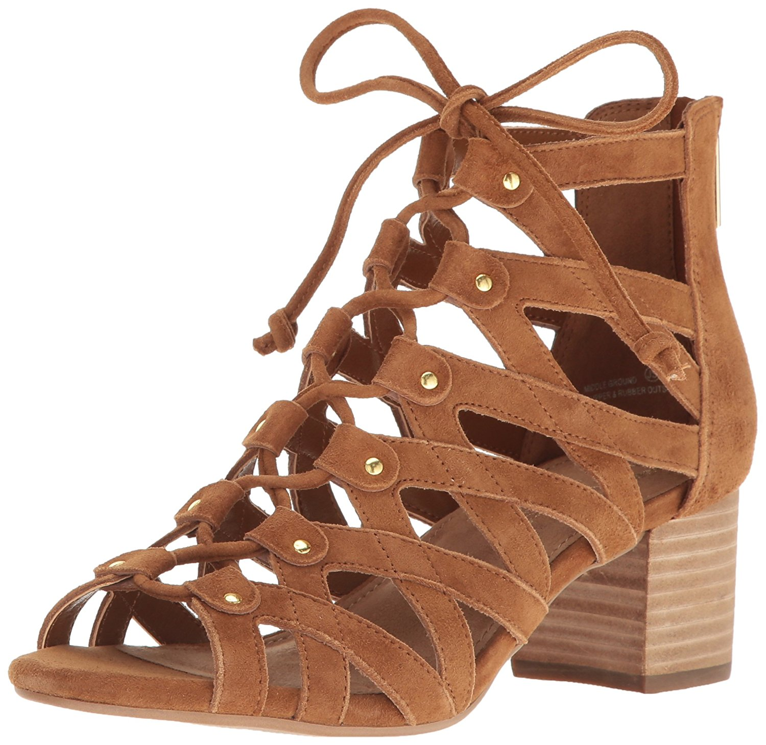 Aerosoles femmes Middle Suede Open Toe Casual Strappy Sandals
