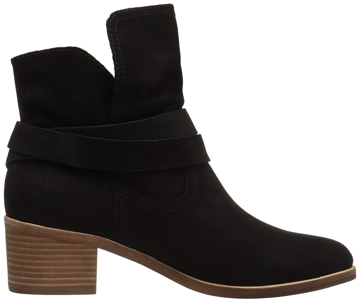e58f555aebf Details about Ugg Australia Womens Elora Leather Almond Toe Ankle Fashion  Boots