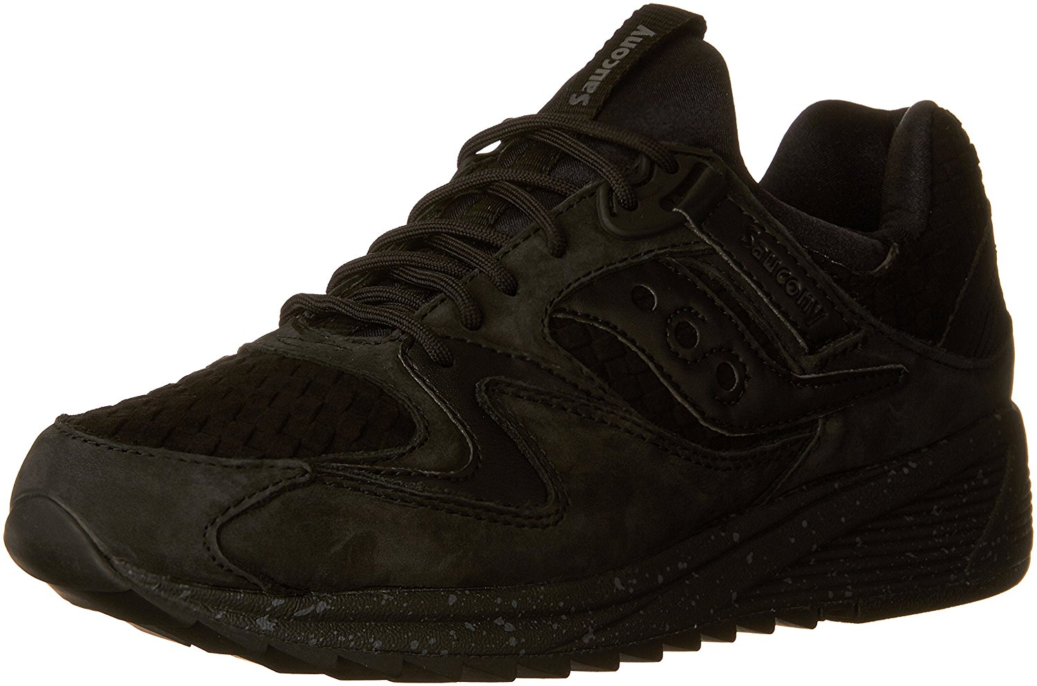 Saucony Men's Grid 8500 Basketweave Sneaker Black Size 6.5