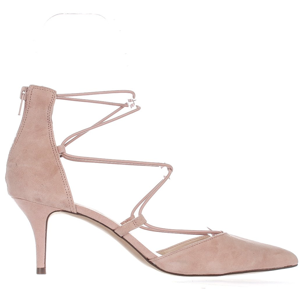INC International Concepts Womens Daree Leather Pointed Toe Lychee Size 7.0 KD