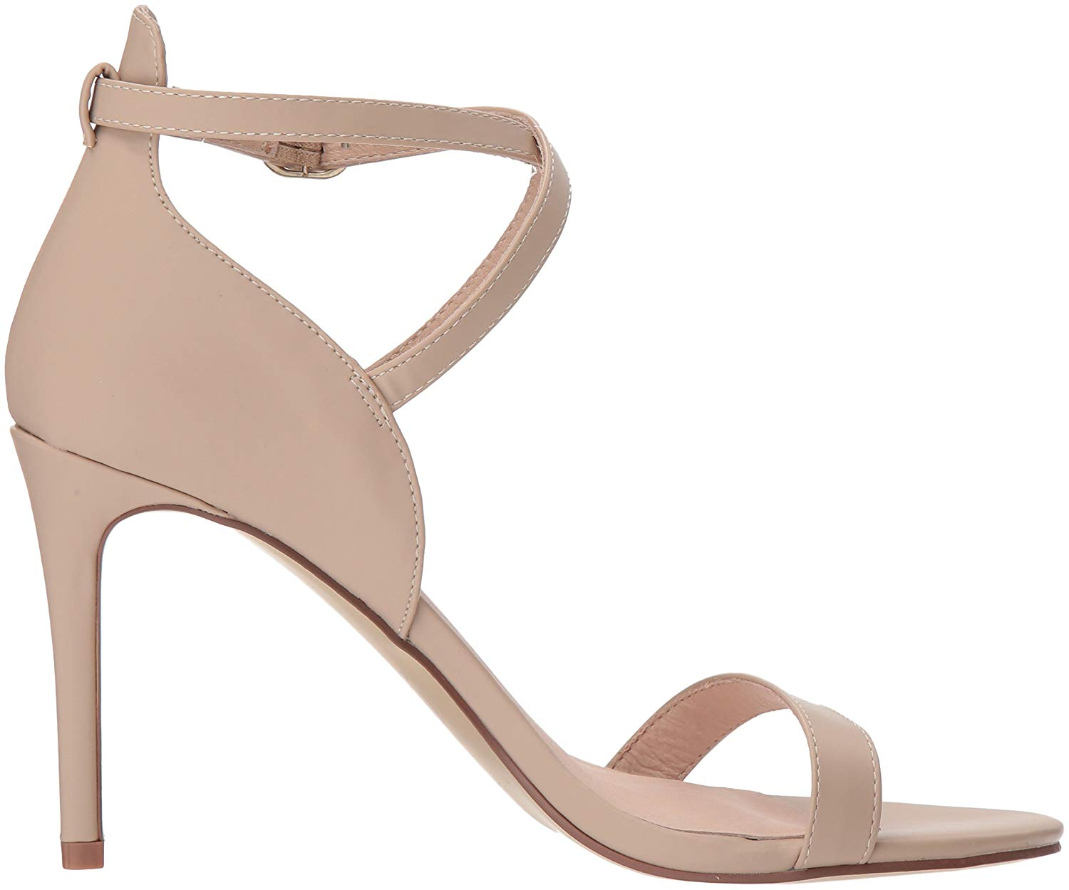 dba63a48ba7 Chinese Laundry Womens Sabrie Open Toe Special Occasion Ankle Strap ...