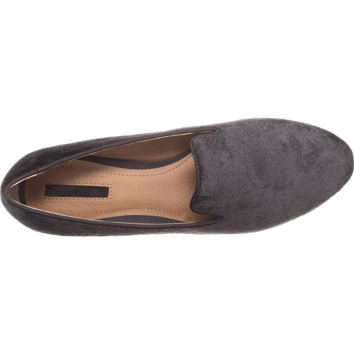 106e51bdce8 Tahari Womens Foley Almond Toe Loafers
