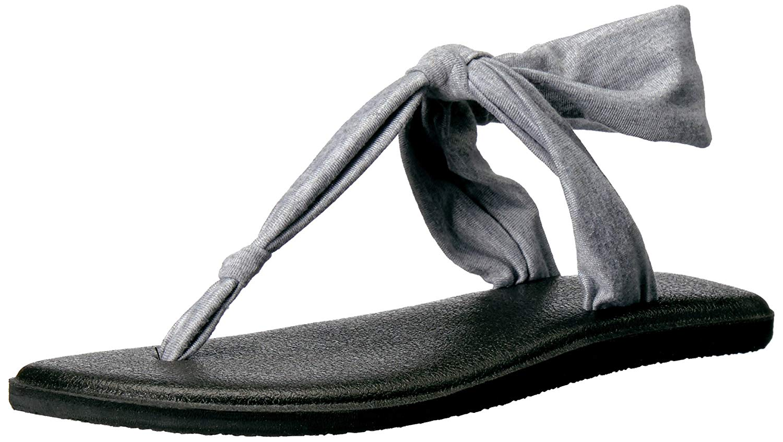 aa7381d8b0a167 Details about Sanuk Women s Yoga Sling Ella Flip Flop