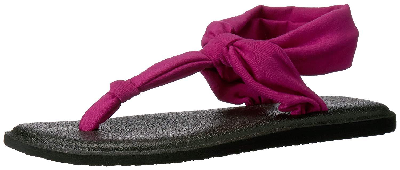 7b2acce4015243 Sanuk Women s Yoga Sling Ella Flip Flop