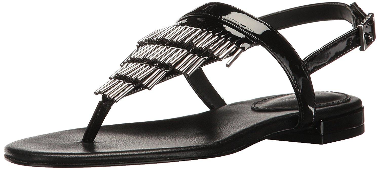 f9c07e8dea7f Calvin Klein Womens Evonie Open Toe Casual Gladiator Sandals