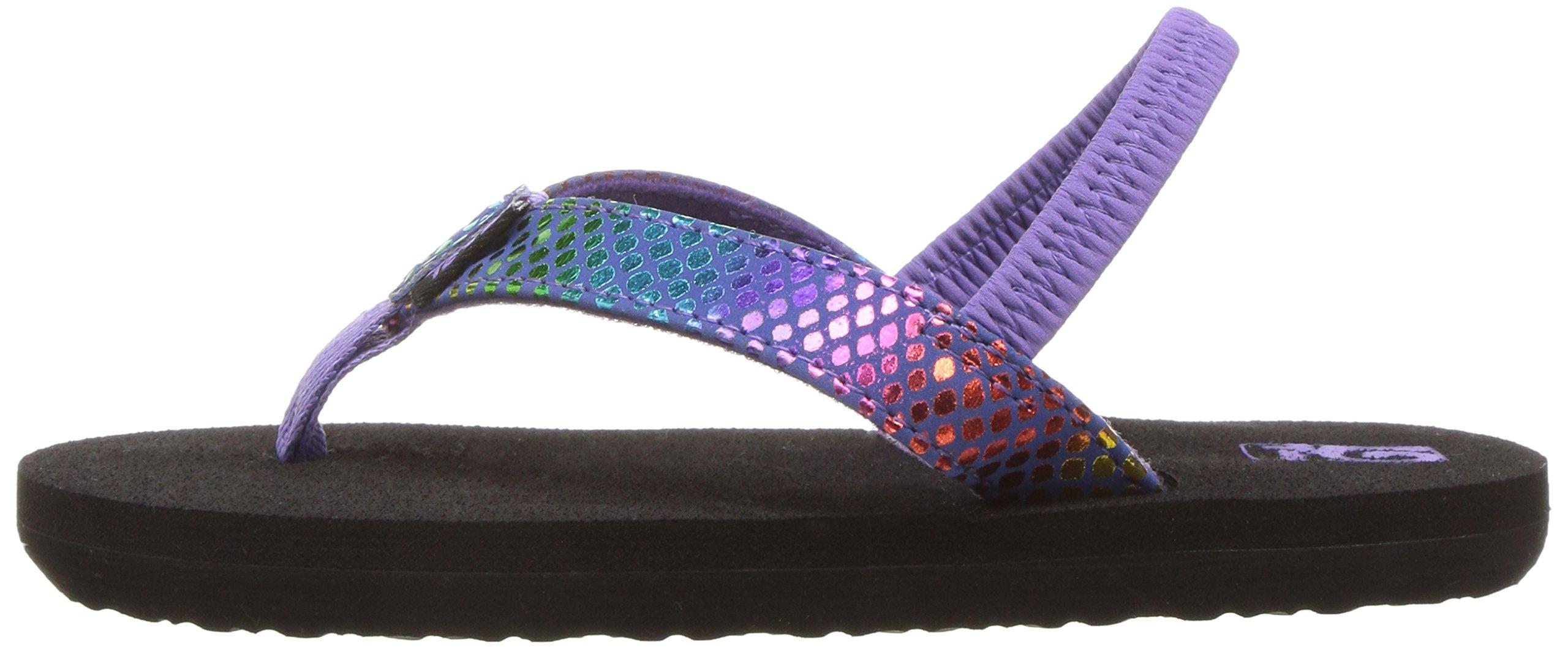 331893259d78a Teva Mush II Girls Sandals Purple Multi Snake 0 US   M 889642515437 ...