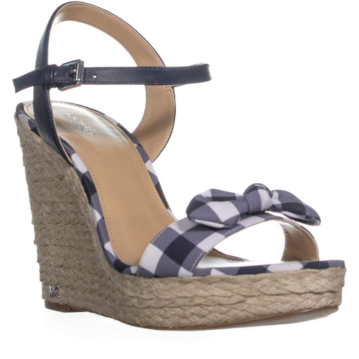 c92038782ba Michael Michael Kors Womens Pippa Leather Open Toe Special Occasion Ankle  Str..