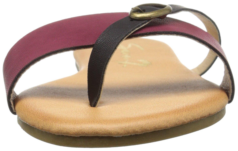 1aaf58e3105e6c Seven7 Womens Koopie Split Toe Casual Slide Sandals