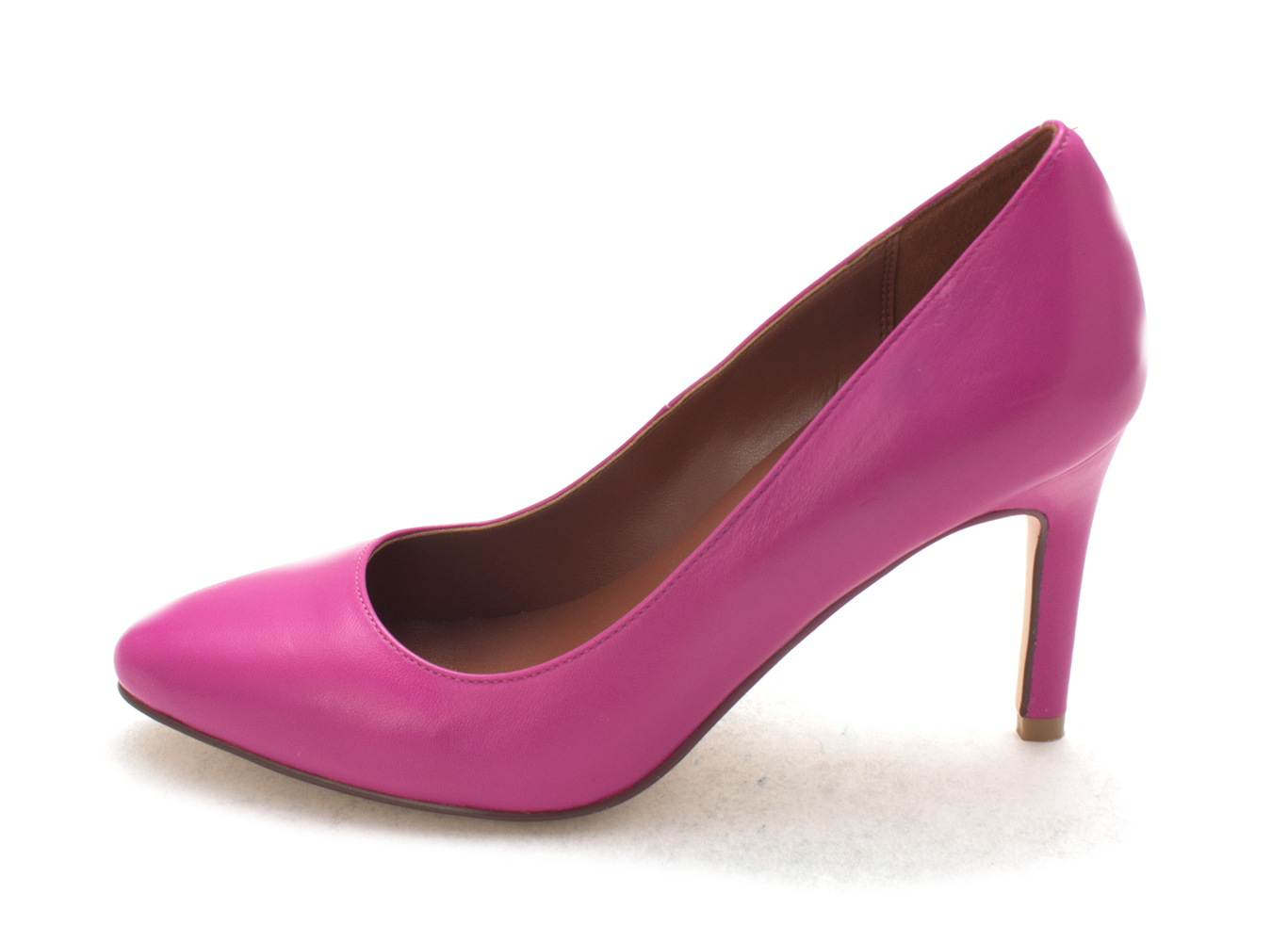 Cole Haan Womens 14A4338 Closed Toe Classic Pumps Fuchsia Red Size 6.0