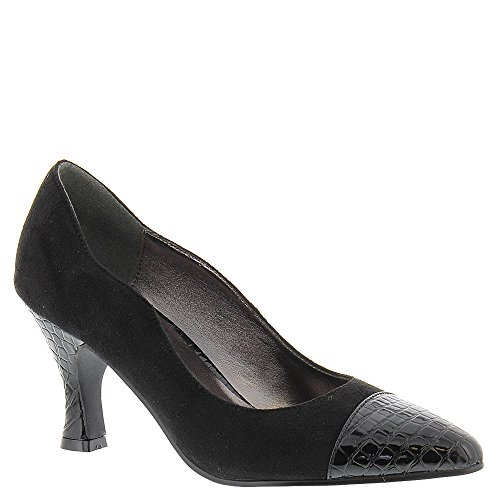 Bellini Zaza Women's Pump Blackmicrofiber Size 10.0