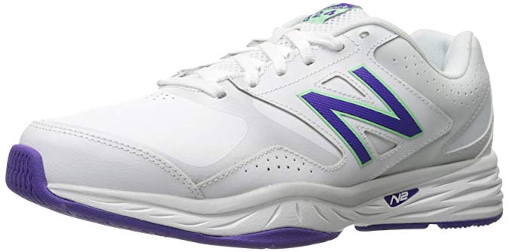 Detalles de New Balance 824v1, Zapatos Para Correr Mujeres, Bajos & Medios, Cordon, Piel, Ta