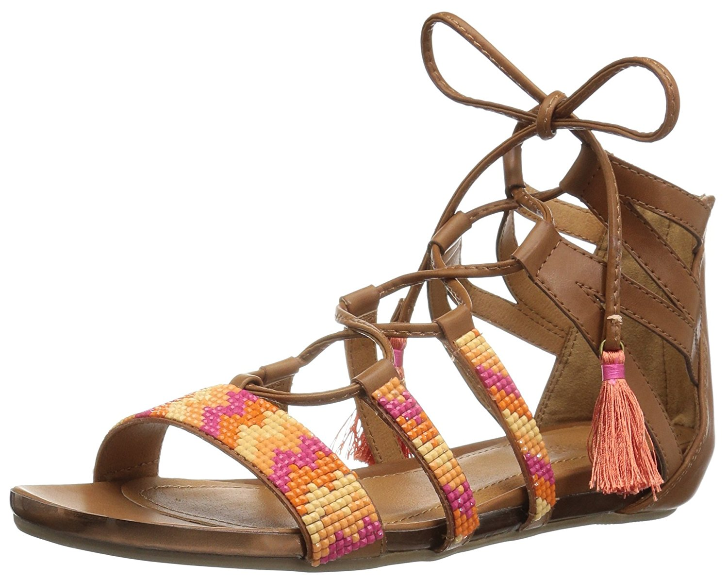 349f5d91b99a Details about Kenneth Cole REACTION Women s Lost Look 2 Gladiator Sandal