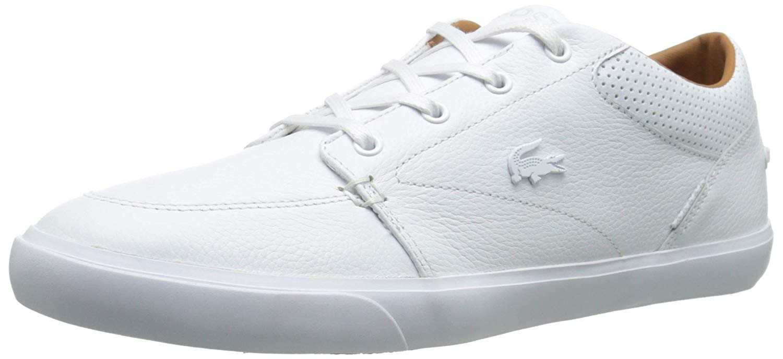 footwear sale wholesale outlet Details about Lacoste Mens Bayliss Vulc PRM Low Top Lace Up Fashion,  White/White, Size 10.0 43