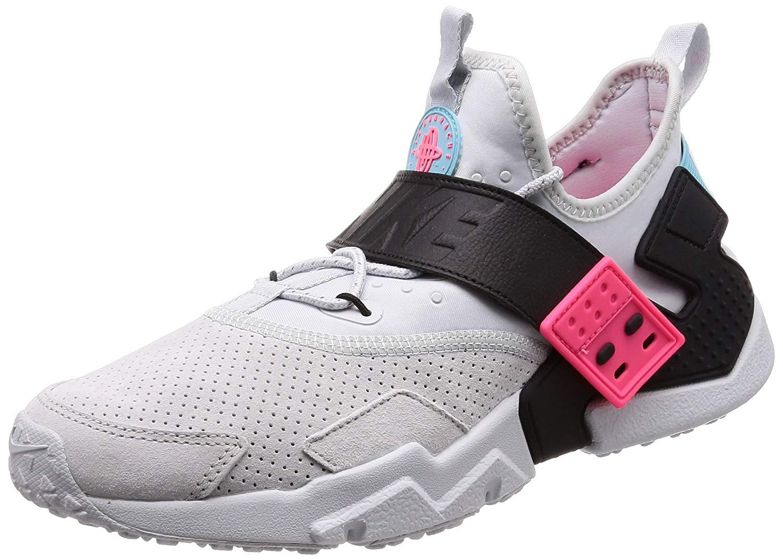 Details about Nike Mens Air Huarache Drift Prm Low Top Lace, PureBlack racer Pink, Size 9.0 K