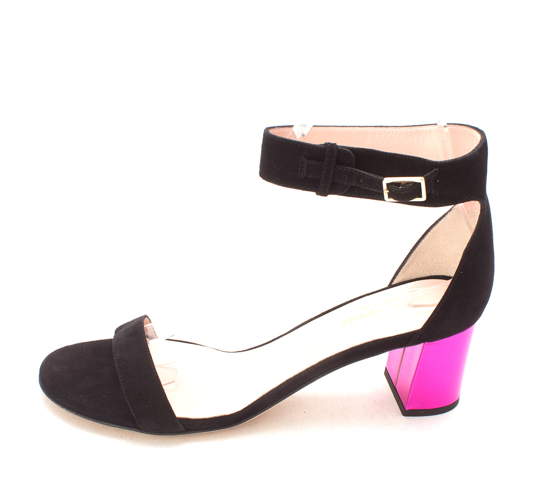Kate Spade New York Suede Peep-Toe Sandals pre order cheap price buy discount free shipping outlet store authentic ZzZvQ