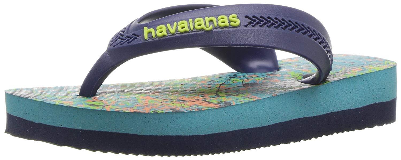 22338192c Kids Havaianas Boys Max Thong Slip On Flip Flops