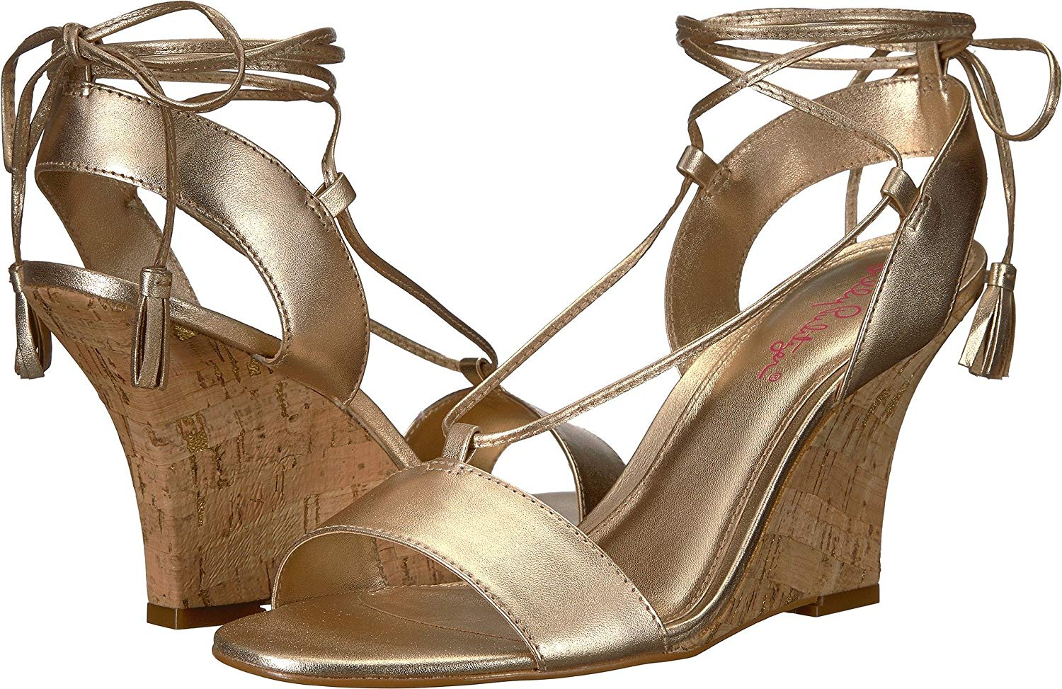efe7173938e1 Details about Lilly Pulitzer Womens Aria Wedge